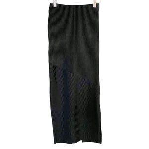 Zara ribbed maxi skirt